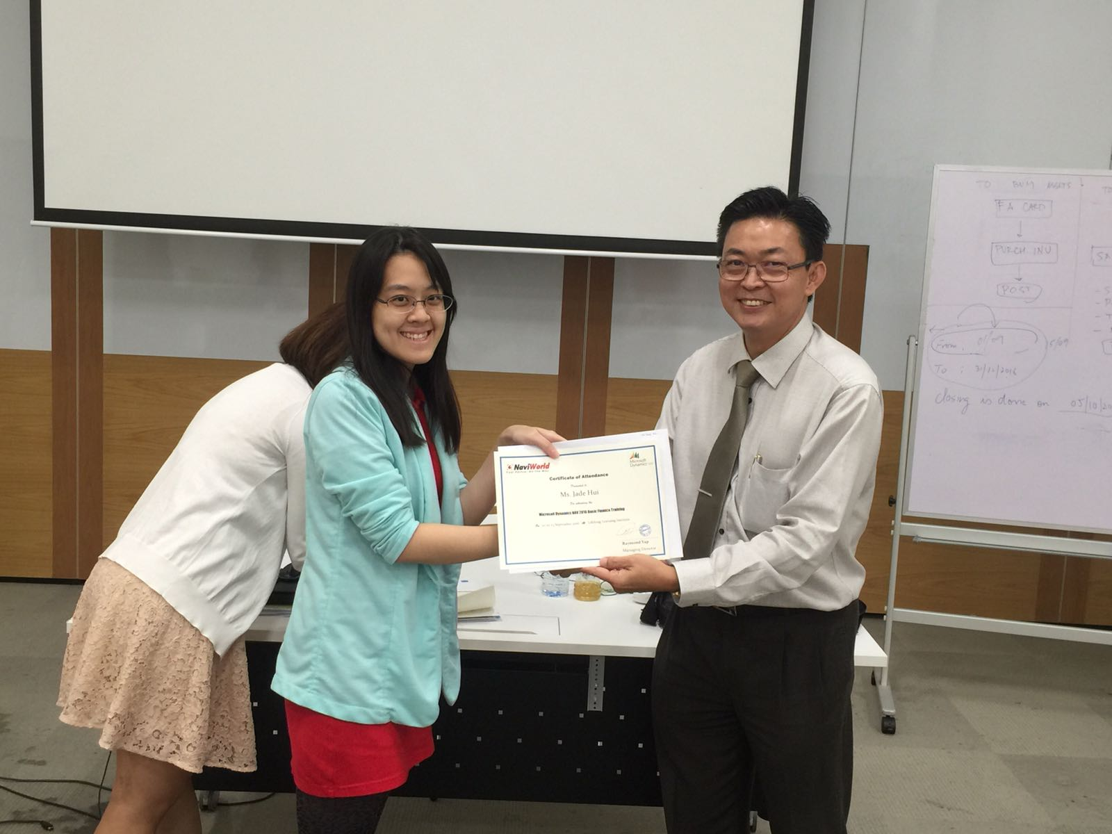 Microsoft Dynamics NAV Finance Training Certificate