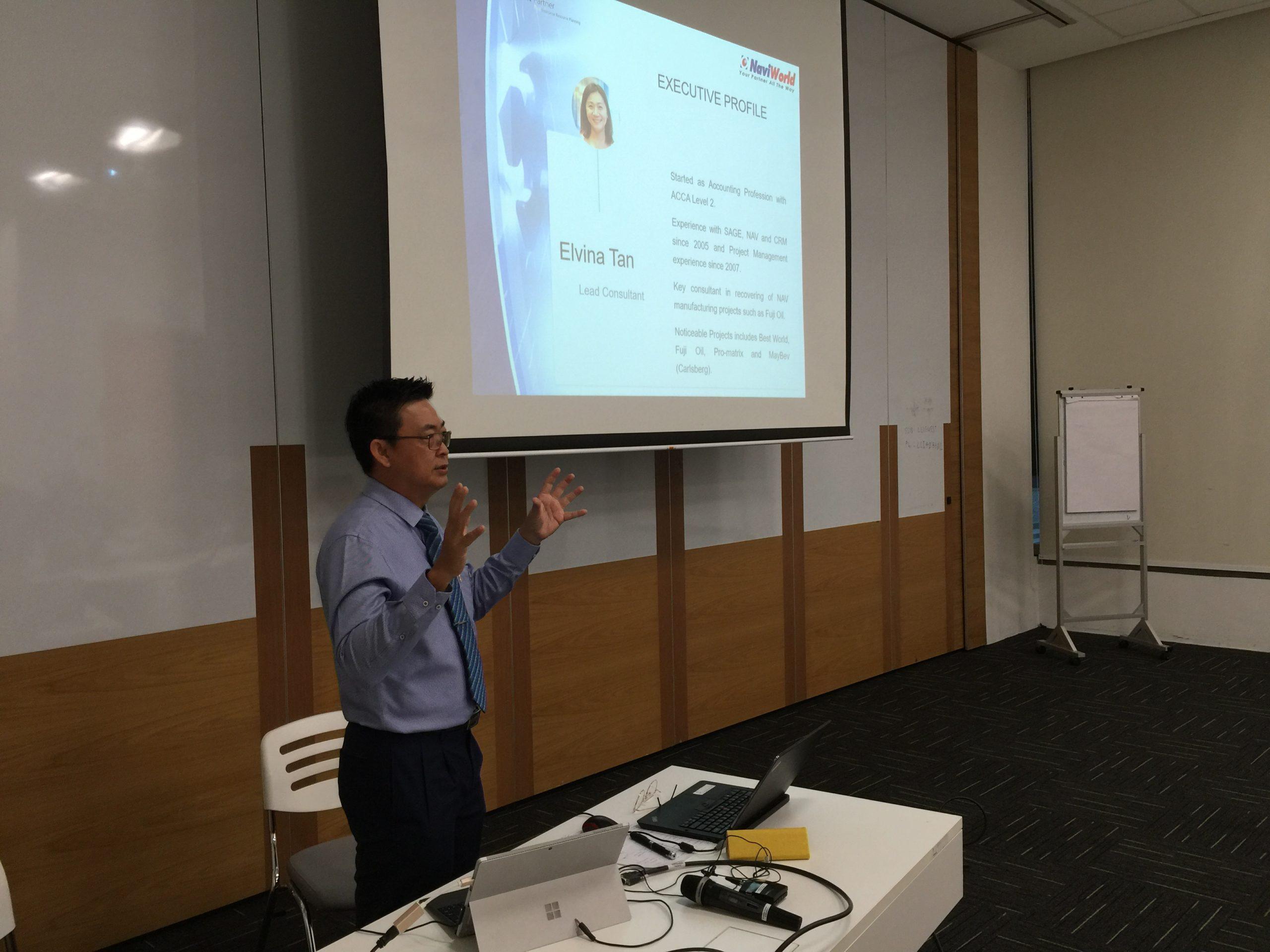 ERP Seminar Speaker
