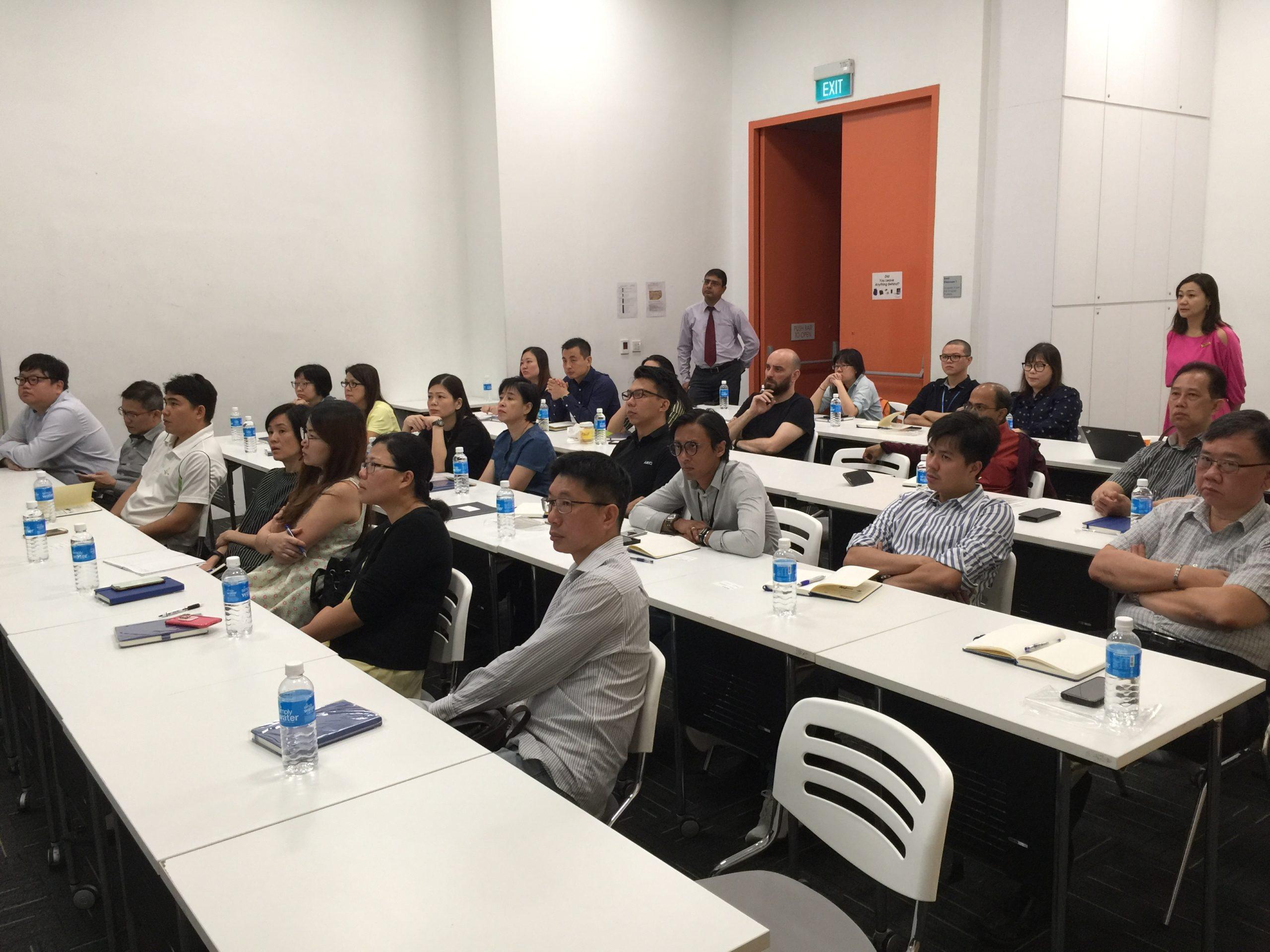 ERP Seminar Delegates