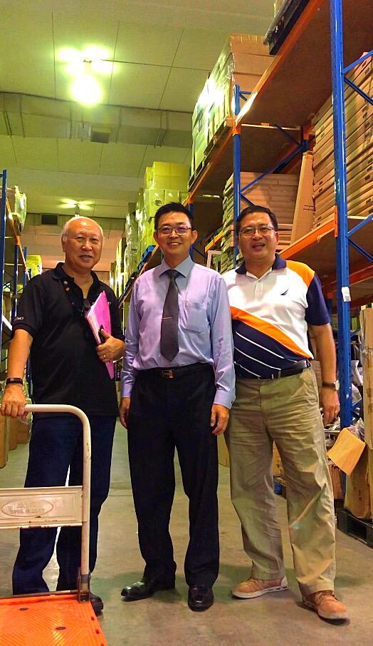 FortyTwo COO, Mr. Philip Hee and MD of NaviWorld Singapore