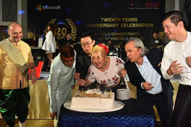 NaviWorld Celebrate 20th Anniversary