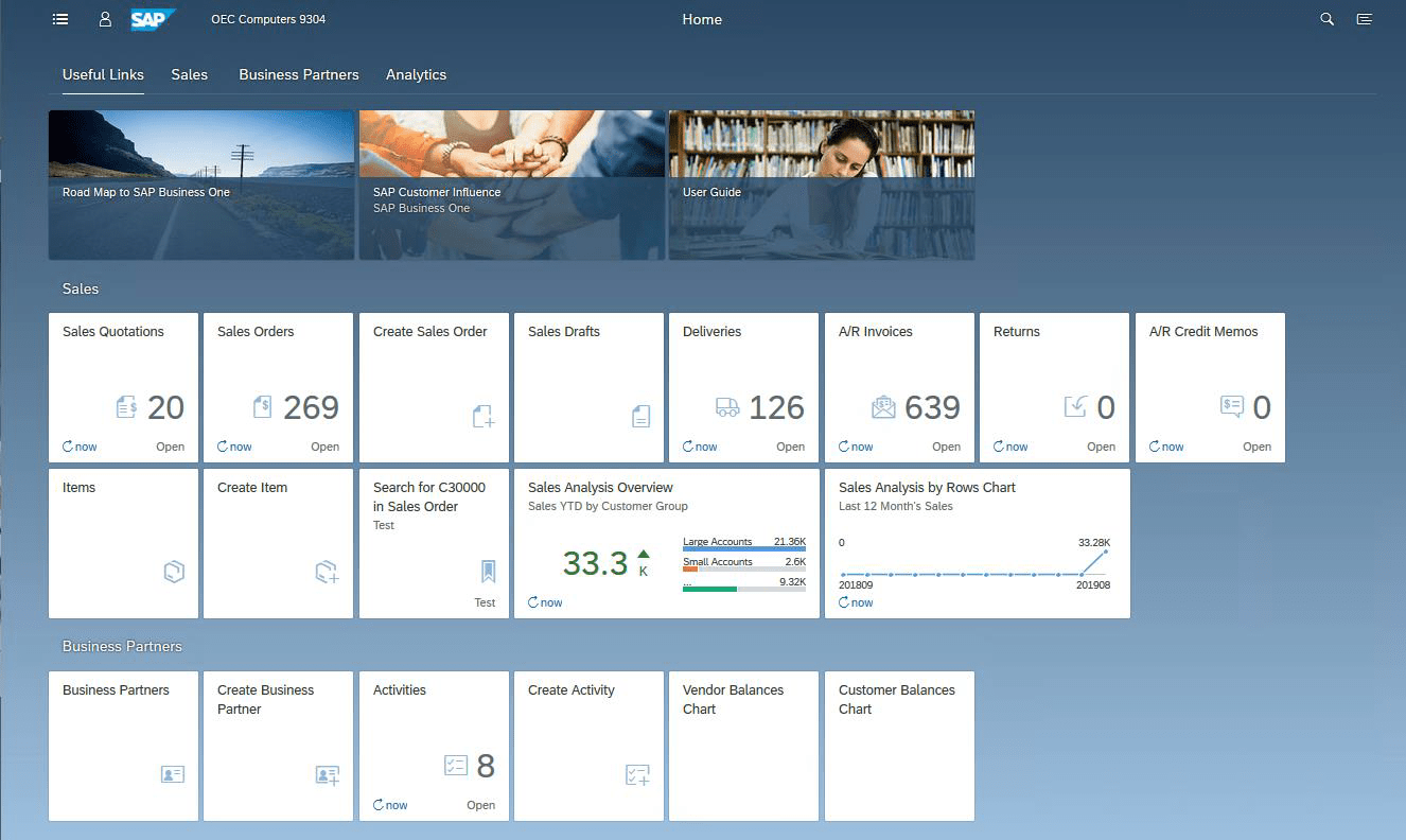What's New SAP Business One 10.0 GUI