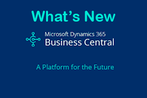 What's New Dynamics 365 Business Central