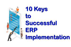 10 Keys for Successful ERP Implementation