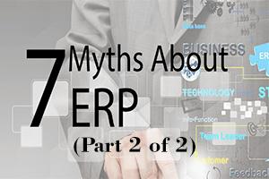 7 Myths ERP 2 Hot