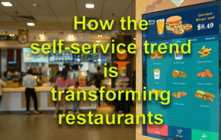 Self Service Trend transform restaurant