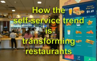 Self Service Trend transform restaurant