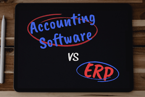 Accounting Software vs ERP