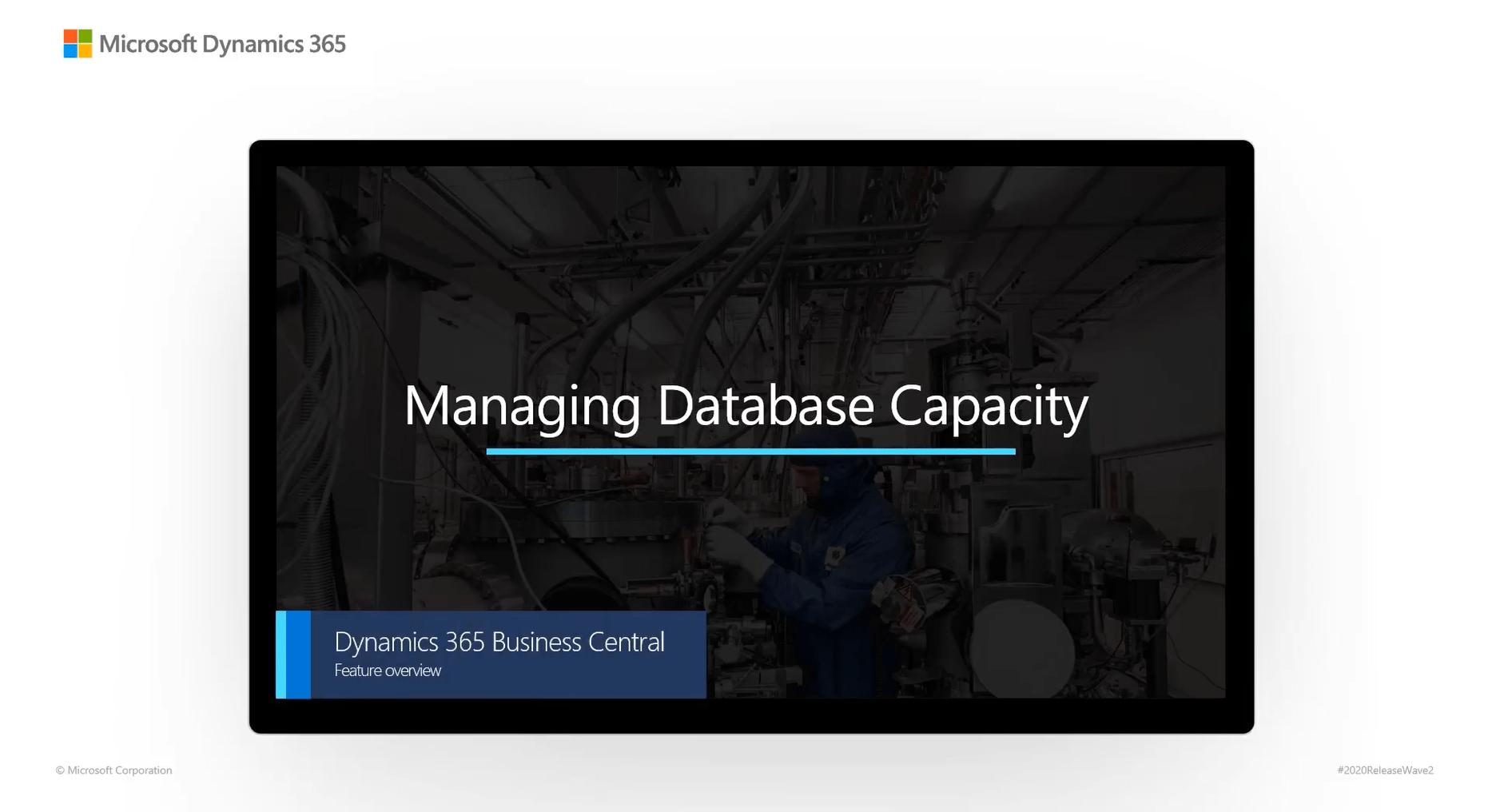 Managing Database Capacity