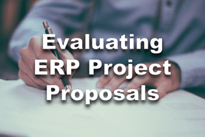 Evaluating ERP Project Proposals