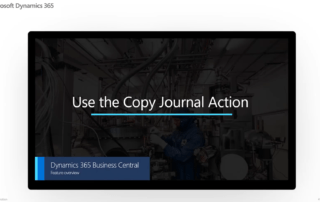Use the Copy Journal Action