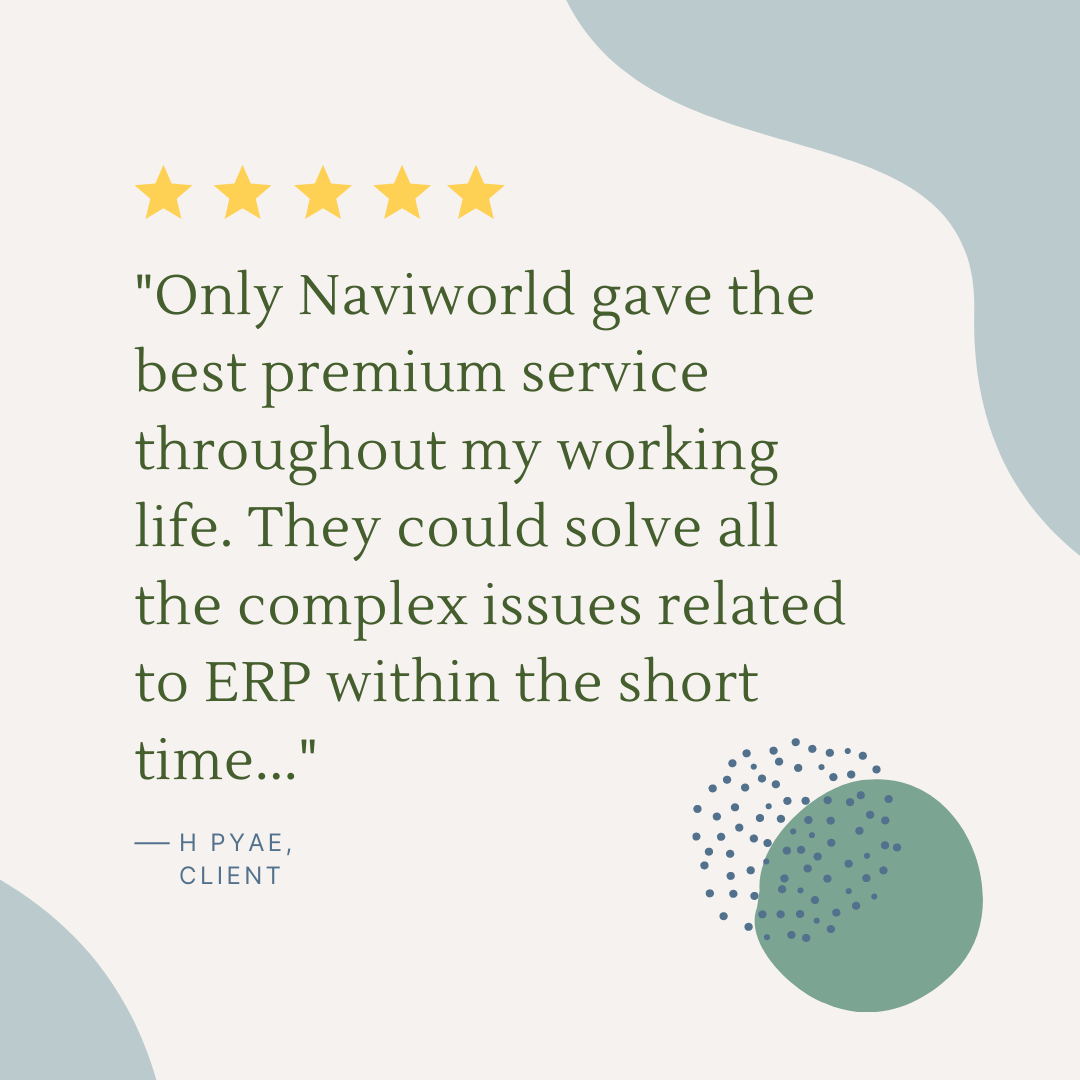 NaviWorld Singapore Google Review 1