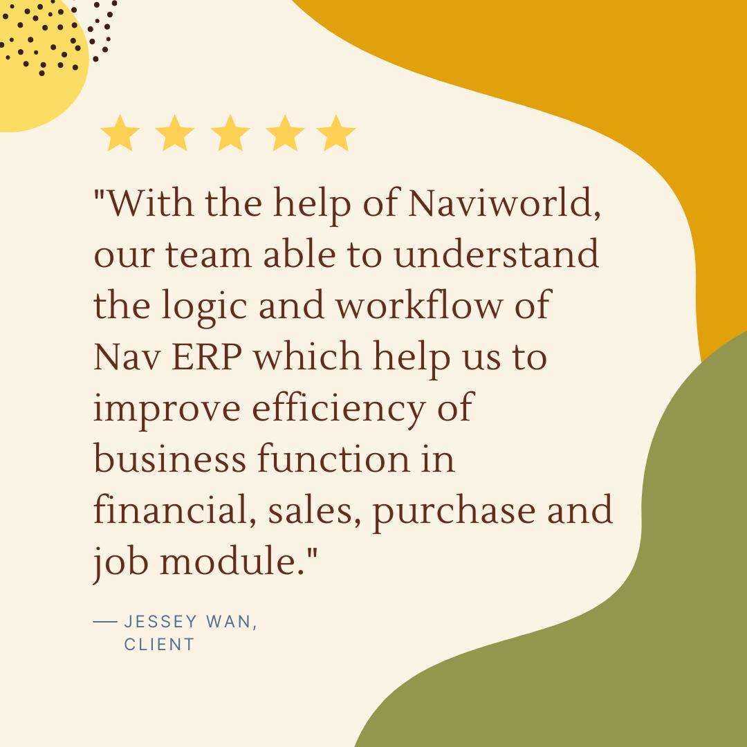 NaviWorld Singapore Google Review 5