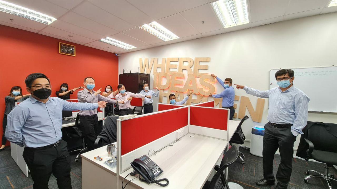 NaviWorld Singapore team